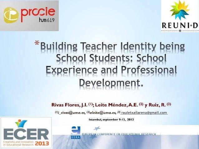 Building Teacher Identity being School Students