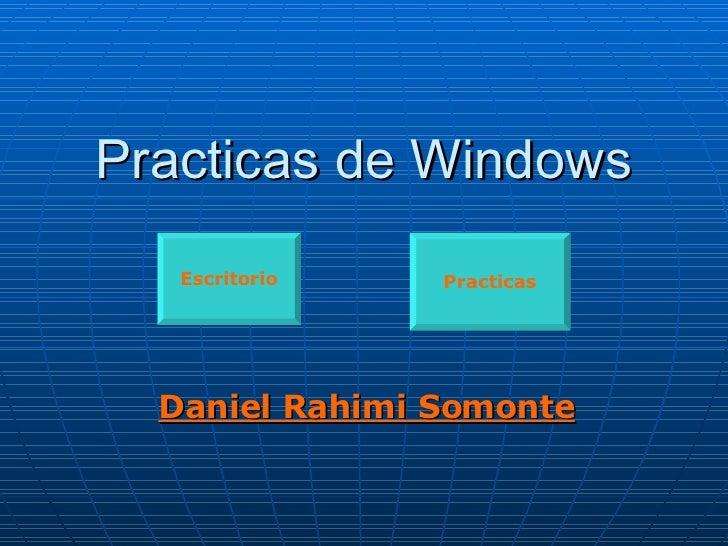Practicas de Windows