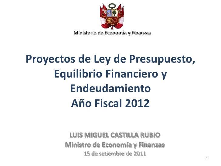 Ley de presupuestos ministerio de la vivienda prestamos for Ley de ministerios
