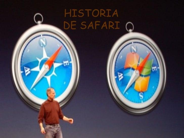 HISTORIADE SAFARI
