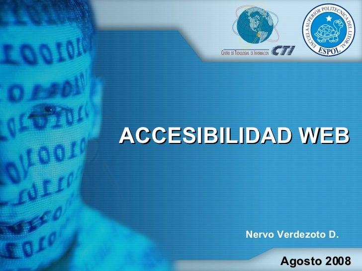 Presentacion Accesibilidad y Posicionamiento 25 08 08