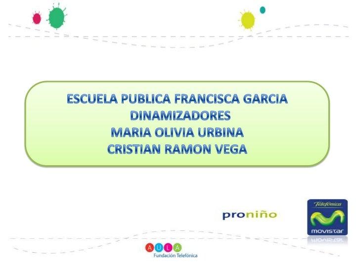 Las actividades en la Escuela Francisca García     Reunión con Padres y Madres de Familia
