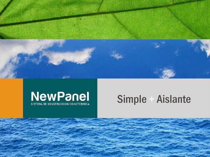 Presentacion NewPanel