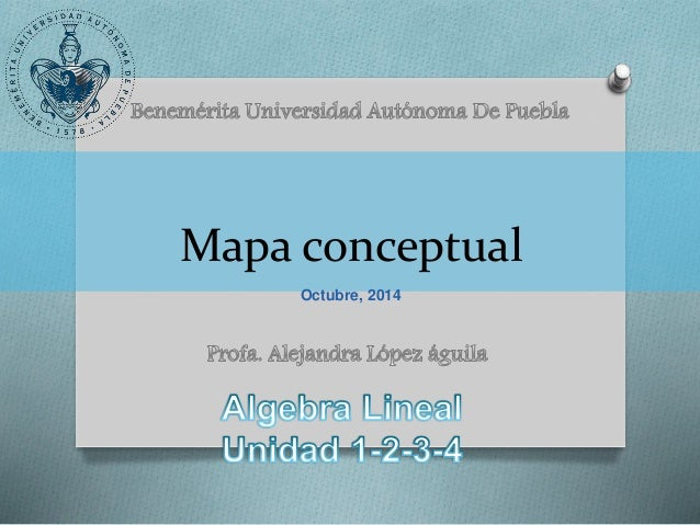 Mapa conceptual Octubre, 2014