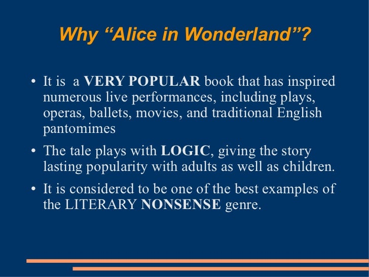 literary nonsense
