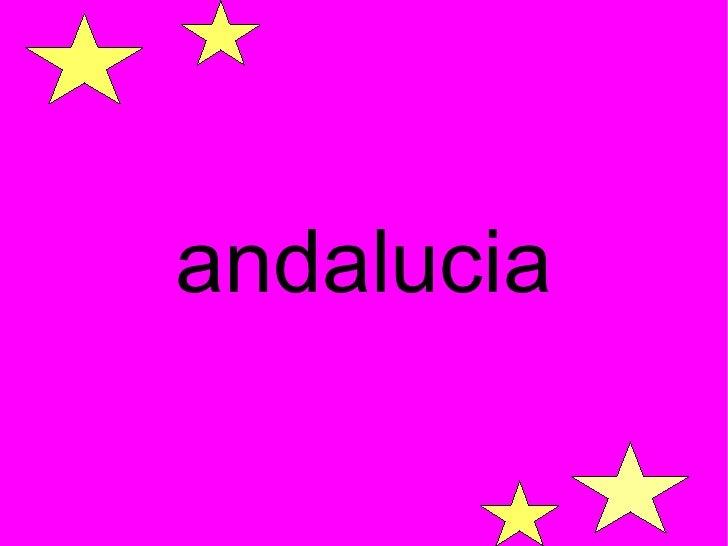 Presentación Andalucia Cristina Cabrera