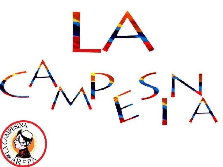 Presentacion arepa campesina