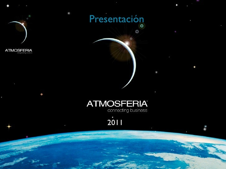 Presentacion Atmosferia 2011