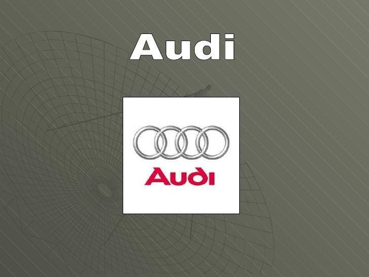 Presentacion Audi Pps