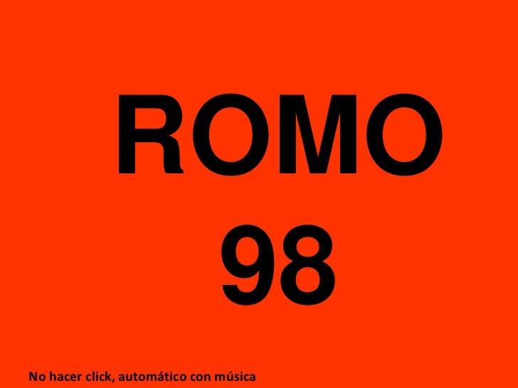 Romo 2010 2011