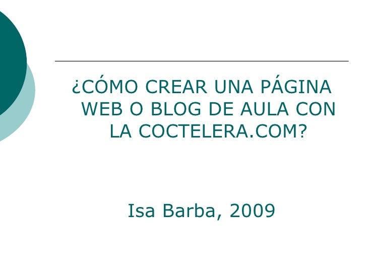 Presentacion Blog Coctelera