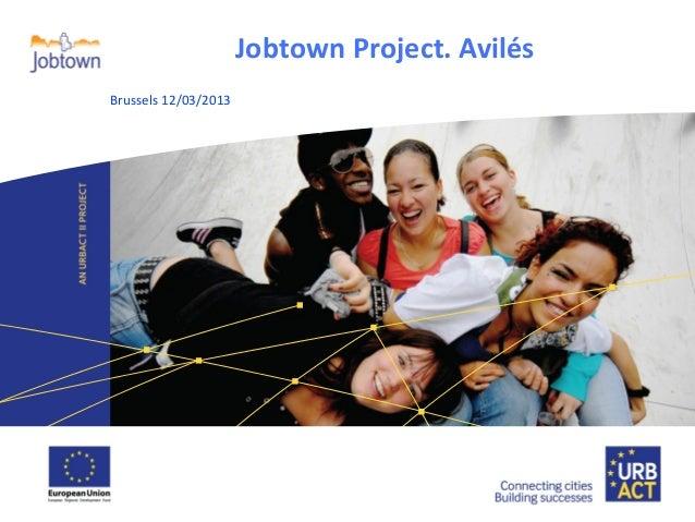 Jobtown Project. Avilés