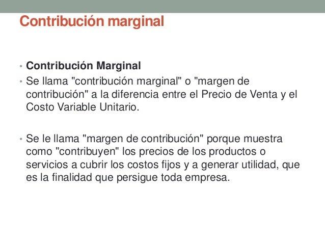 margen de contribucion pdf