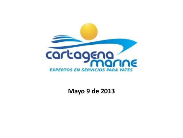 Presentacion modelo cartagena marine
