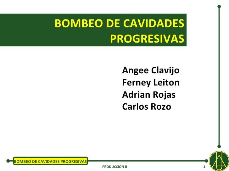 Presentacion cavidades progresivas