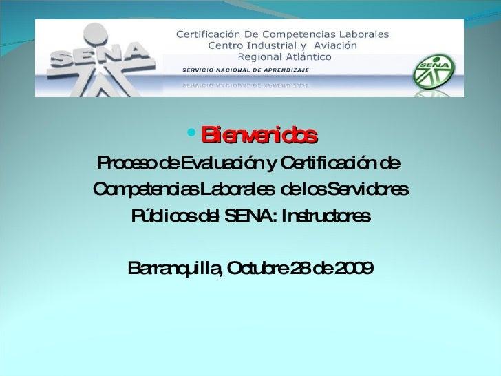 Presentacion CertificacióN Instructores
