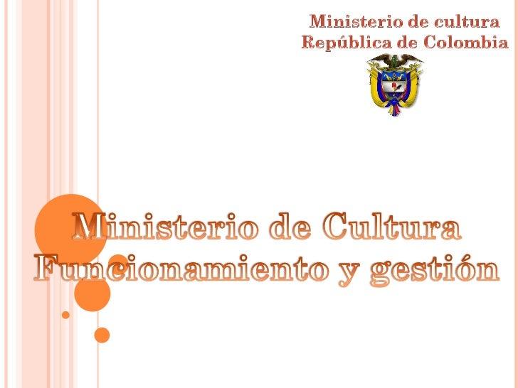 Presentacion Charla Min Cultura