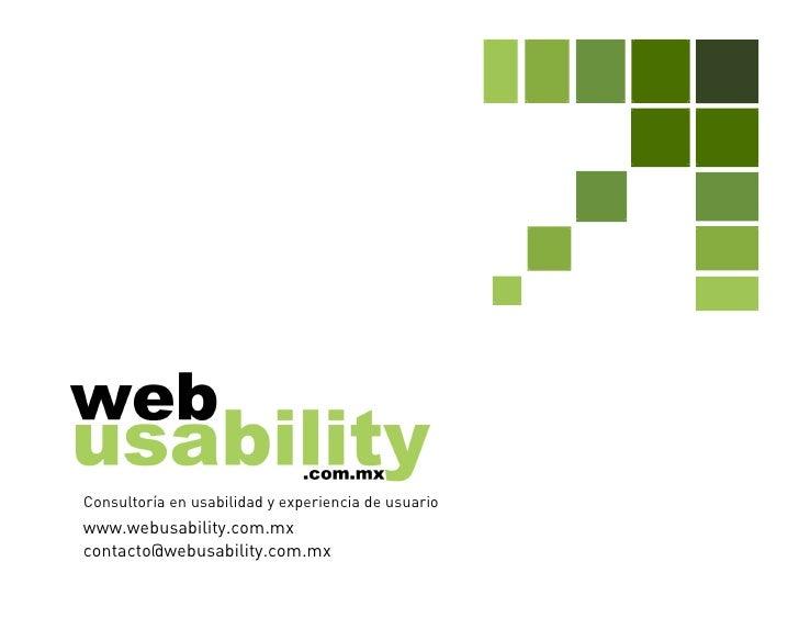 CIAPEM 2010 - Mas cerca de los usuarios: pruebas de usabilidad