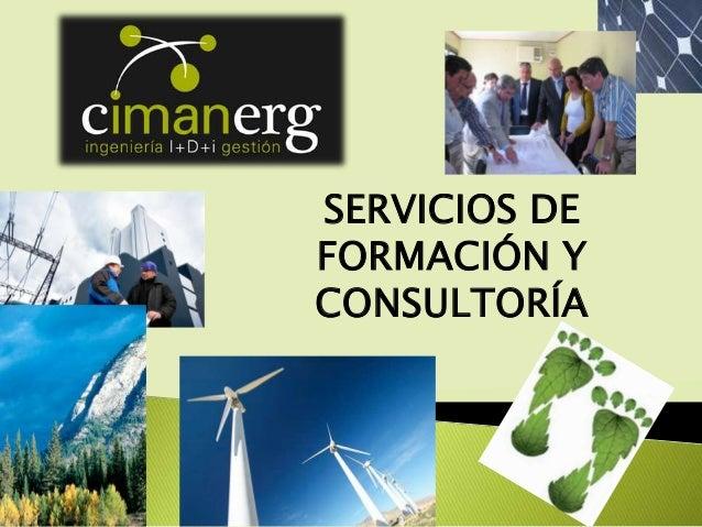 SERVICIOS DE FORMACIÓN Y CONSULTORÍA