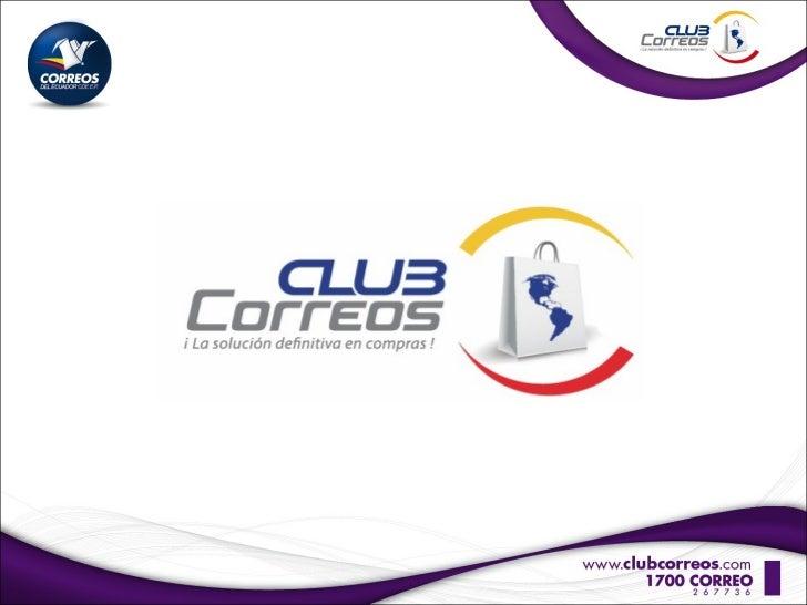 Presentacion Club Correos