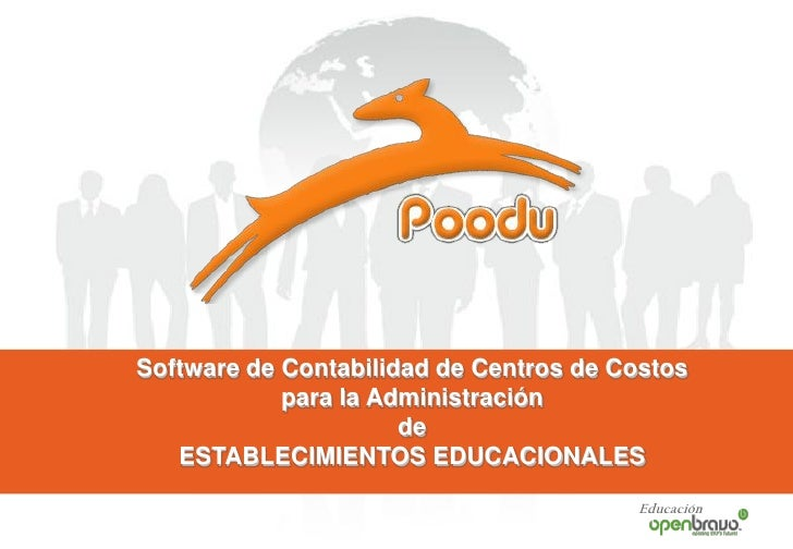 Presentacion Comercial Software Contable Centro Costos Colegios