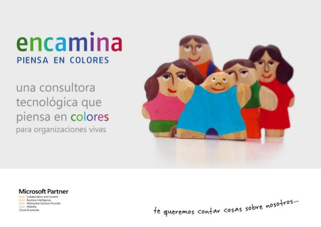 ENCAMINA: ¿Quiénes somos y como trabajamos? - UPV noviembre 2013