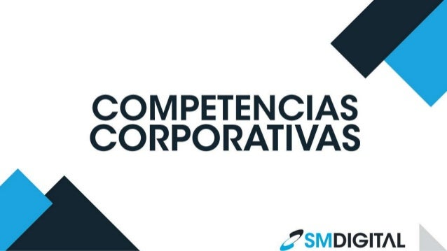 Competencias Corporativas SM Digital