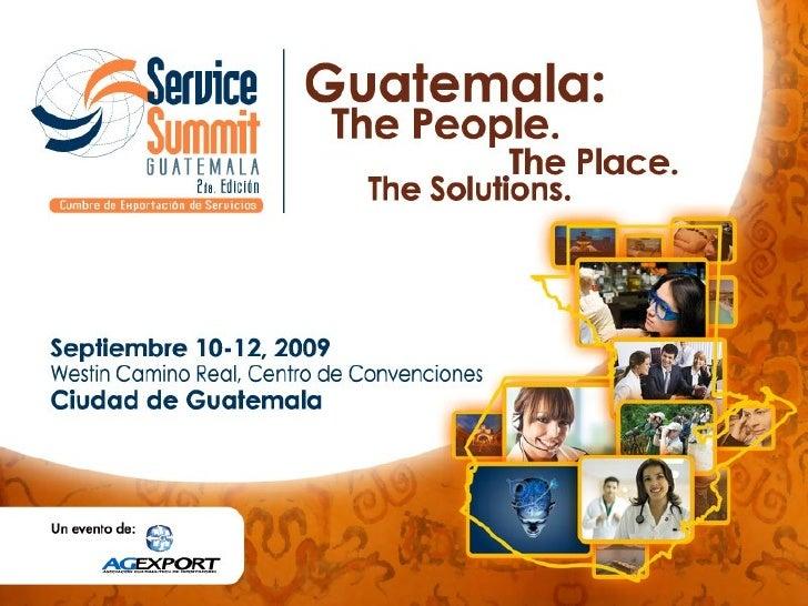 Presentacion Service Summit Guatemala 2009