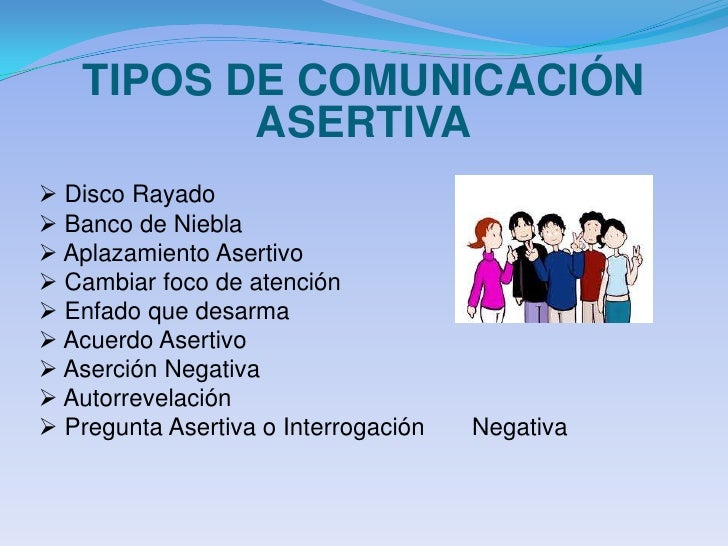 Presentacion comunicacion asertiva for Tipos de familia pdf