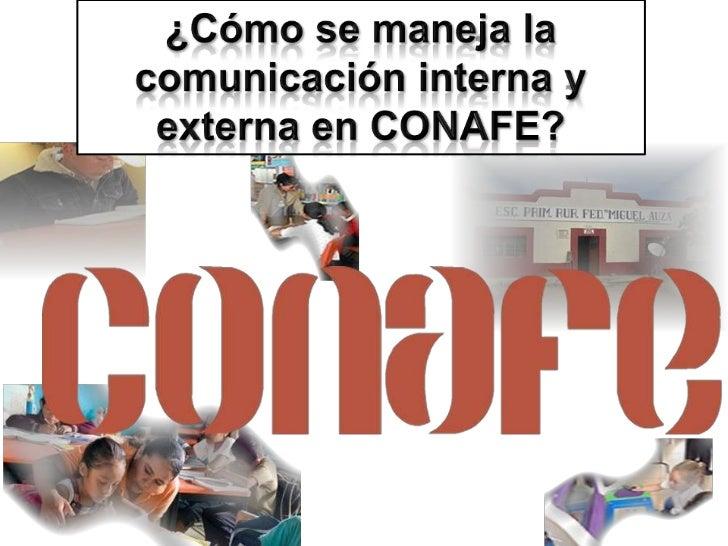 El Consejo Nacional de Fomento Educativo (CONAFE) es unorganismo descentralizado, de la Administración Pública Federal, co...