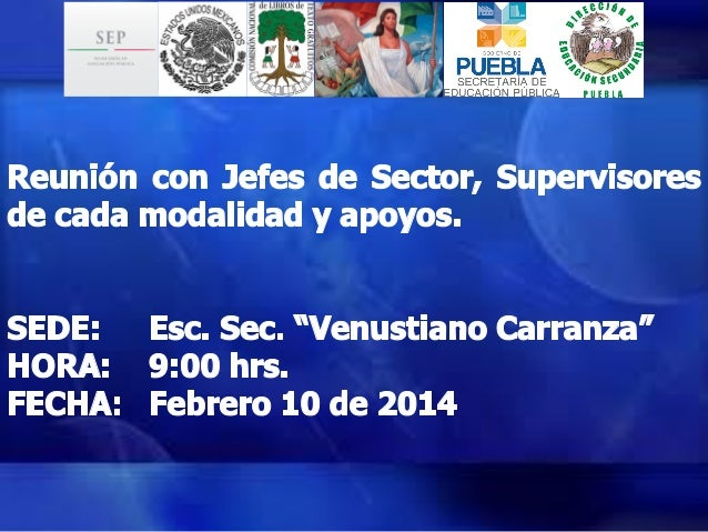 Presentación CONALITEG Puebla. 2014 2015