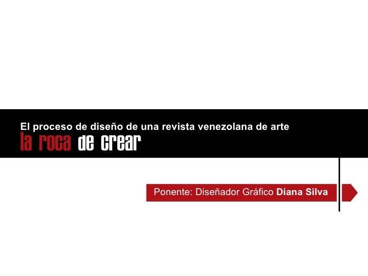 El proceso de diseño de una revista venezolana de arte