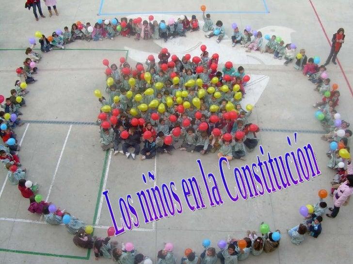 Los niños en la Constitución