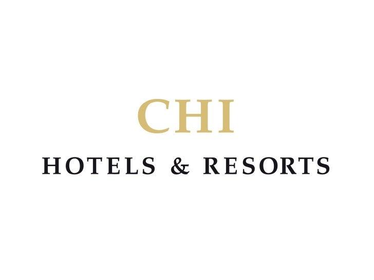 CHI Hotels & Resorts Hoteles para reuniones incentivos eventos  congresos incentivos Praga Lisboa  Budapest St Petersburgo Libia Tunez