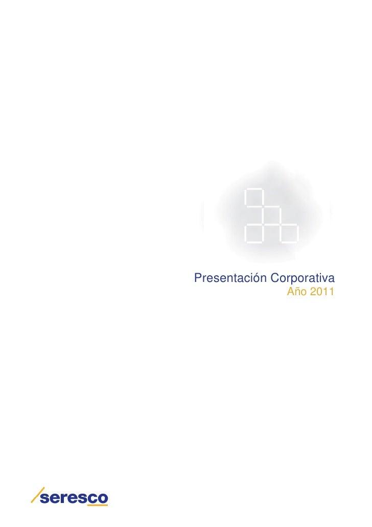 Presentacion corporativa Seresco
