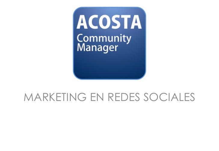 Presentacion Corporativa Acm