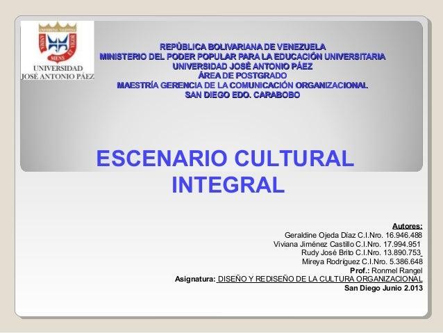 REPÚBLICA BOLIVARIANA DE VENEZUELA MINISTERIO DEL PODER POPULAR PARA LA EDUCACIÓN UNIVERSITARIA UNIVERSIDAD JOSÉ ANTONIO P...