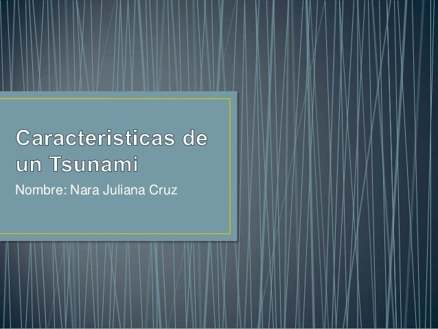 Nombre: Nara Juliana Cruz