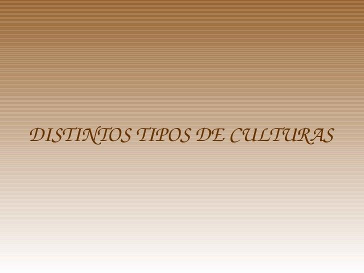 Presentacion Culturas