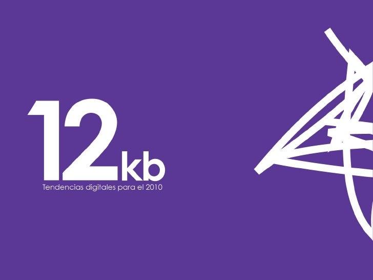 12kbs - Tendencias Digitales 2010