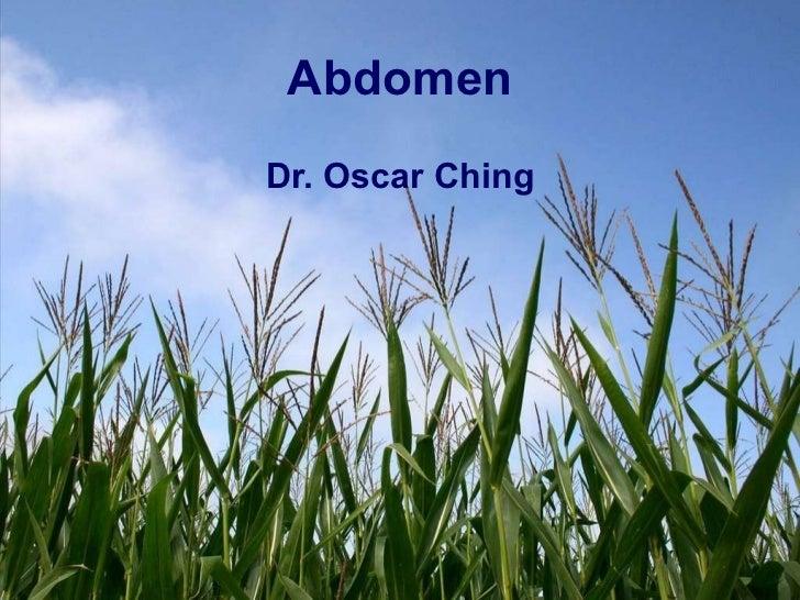 Presentacion de abdomen