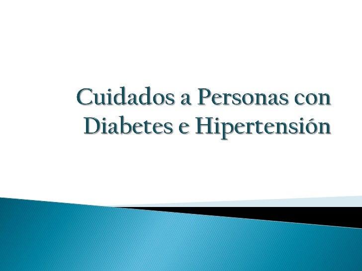   Concepto: La Diabetes Mellitus es una enfermedad crónica    frecuente de los adultos que requiere un seguimiento    co...