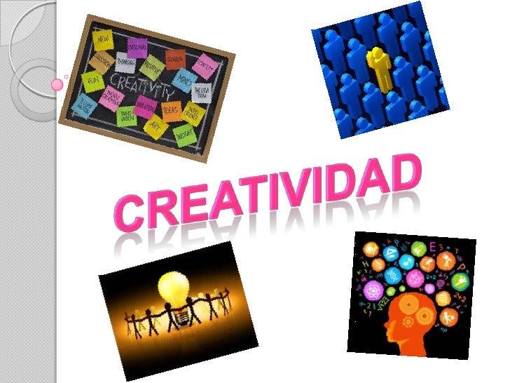 Presentacion de dhtic creatividad