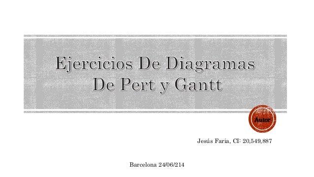 Autor: Jesús Faria, CI: 20,549,887 Barcelona 24/06/214