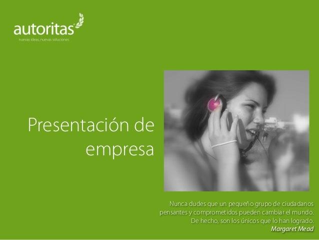 Presentacion de empresa