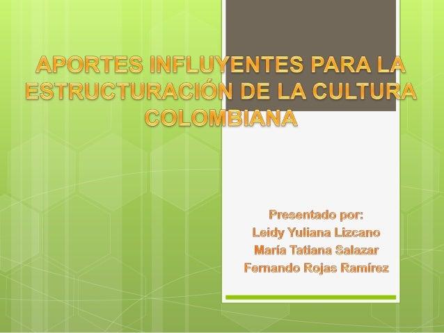 Es fundamental para los colombianos conocer y recordar los orígenes ancestrales, los aportes de las culturas indígenas, es...