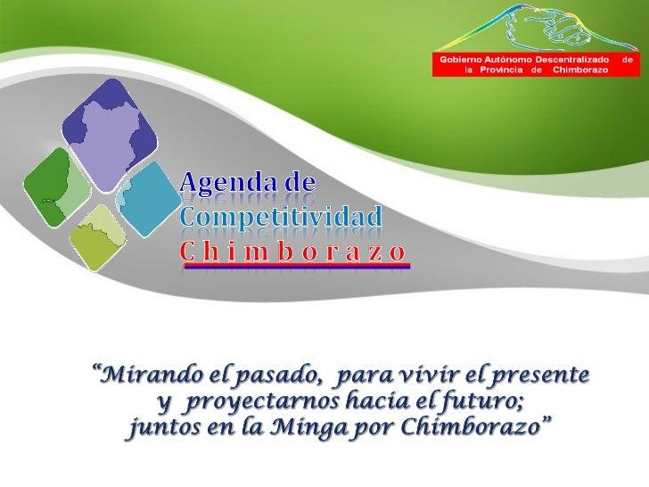 Presentacion de la agenda al 19 01-12 para pagina web