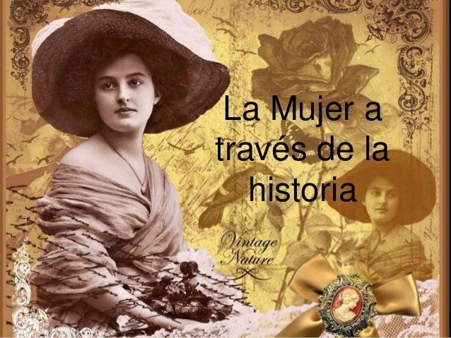 en la mujer en la historia: