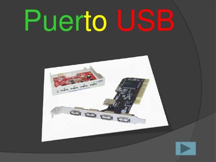 Puerto USB