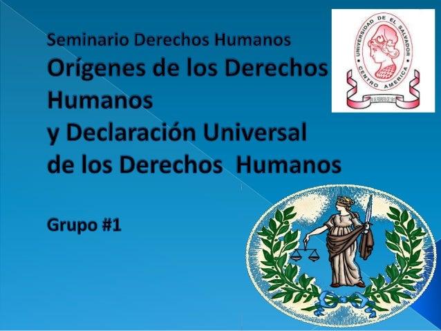 Es importante considerar que los mas importantes pasos a favor de los derechos humanos ocurrieron en las afueras del hem...